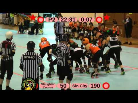 Big O: Slaughter County vs Sin City 5/18/2013