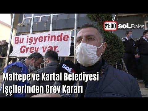 soL Bakış: Maltepe ve Kartal Belediyesi İşçilerinden Grev Kararı