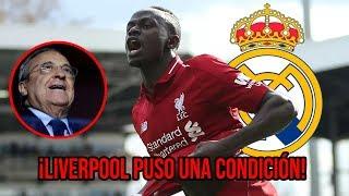 Esta es la condición que puso el Liverpool al Real Madrid por Sadio Mané