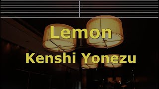 Romanized Karaoke♬ Lemon - Kenshi Yonezu