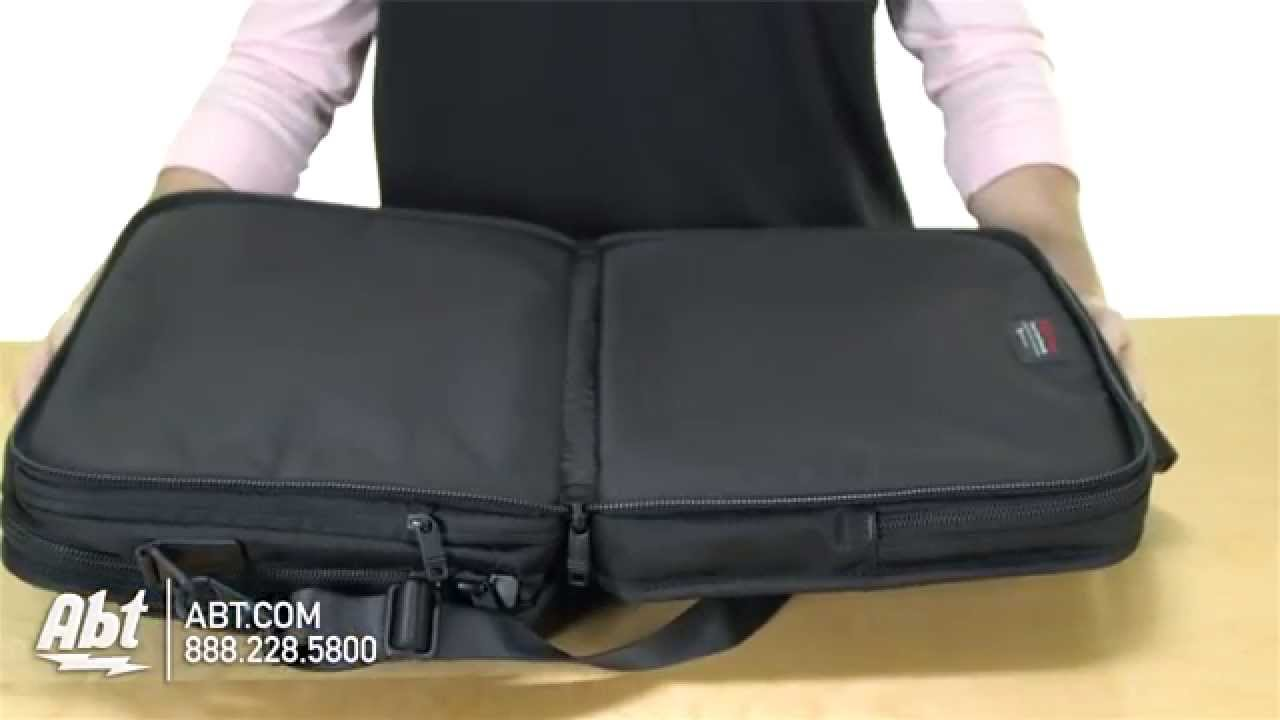 ab348a1a8cb4 Tumi T-Pass Expandable Laptop Brief Case Overview