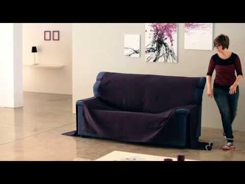 How to install a loose cover