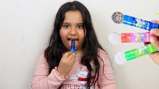 Fingers Family Kid Song Colorful  lollipop shfa- Kinderlieder und lernen Farben Baby