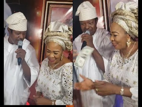 Download So In Love! Watch King Sunny Ade Singing For His Wife At Her 60th Birthday Party