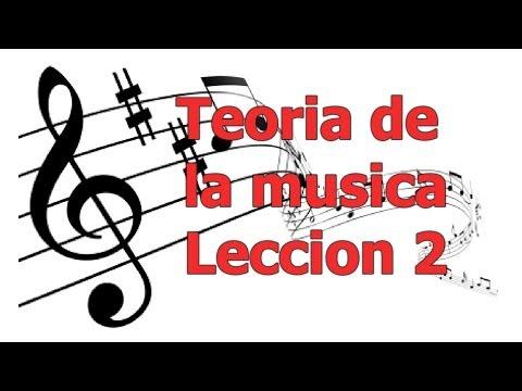 Teoria de la musica, leccion 2, Curso de teoria musical gratis