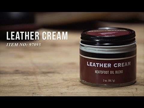 Red Wing Heritage - How to use Leather Cream