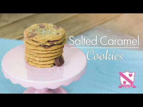 Salted Caramel Cookies - In The Kitchen With Kate