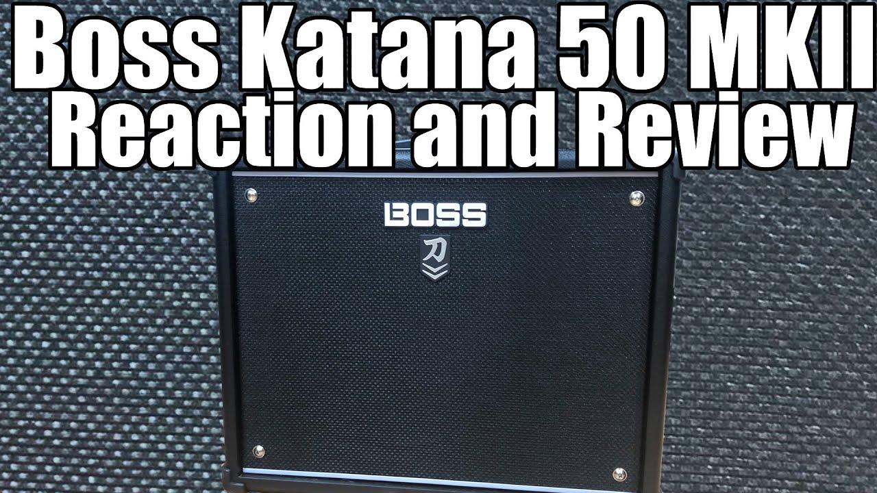 AMFİ İNCELEME // BOSS KTN - Katana 100 Gitar Amfisi | Buğra Şişman