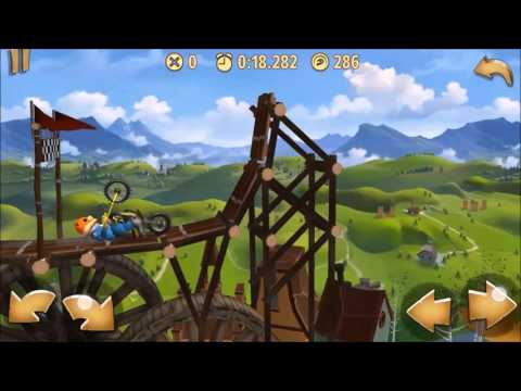 The Grindhouse- Trials Frontier Platinum Medal Walkthrough