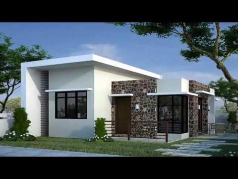 50 fachadas de casas modernas con techos planos 2017 youtube On casas con planos y fachadas
