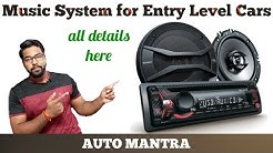Best music system for Entry level Cars from market (detailed video)