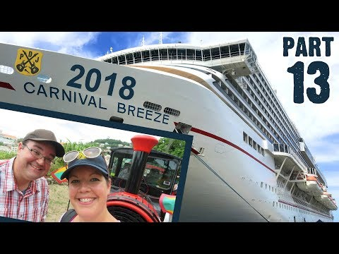 Carnival Breeze Cruise Vlog 2018 - Part 13: Grenada Discovery Train - Successful Tour! - ParoDeeJay