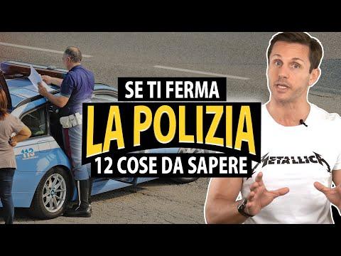 12 cose da sapere se ti ferma la polizia | avv. Angelo Greco