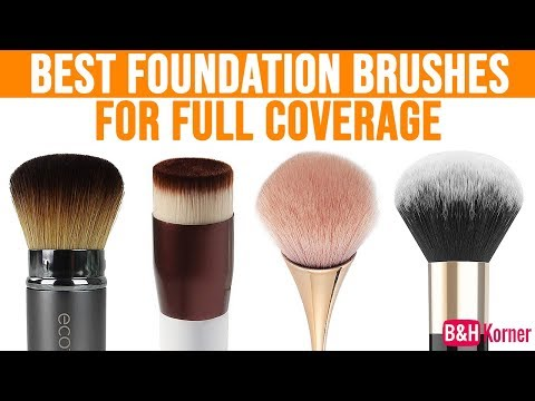 Top 7 Best Foundation Brushes For Full Coverage - Best Makeup Products 2019
