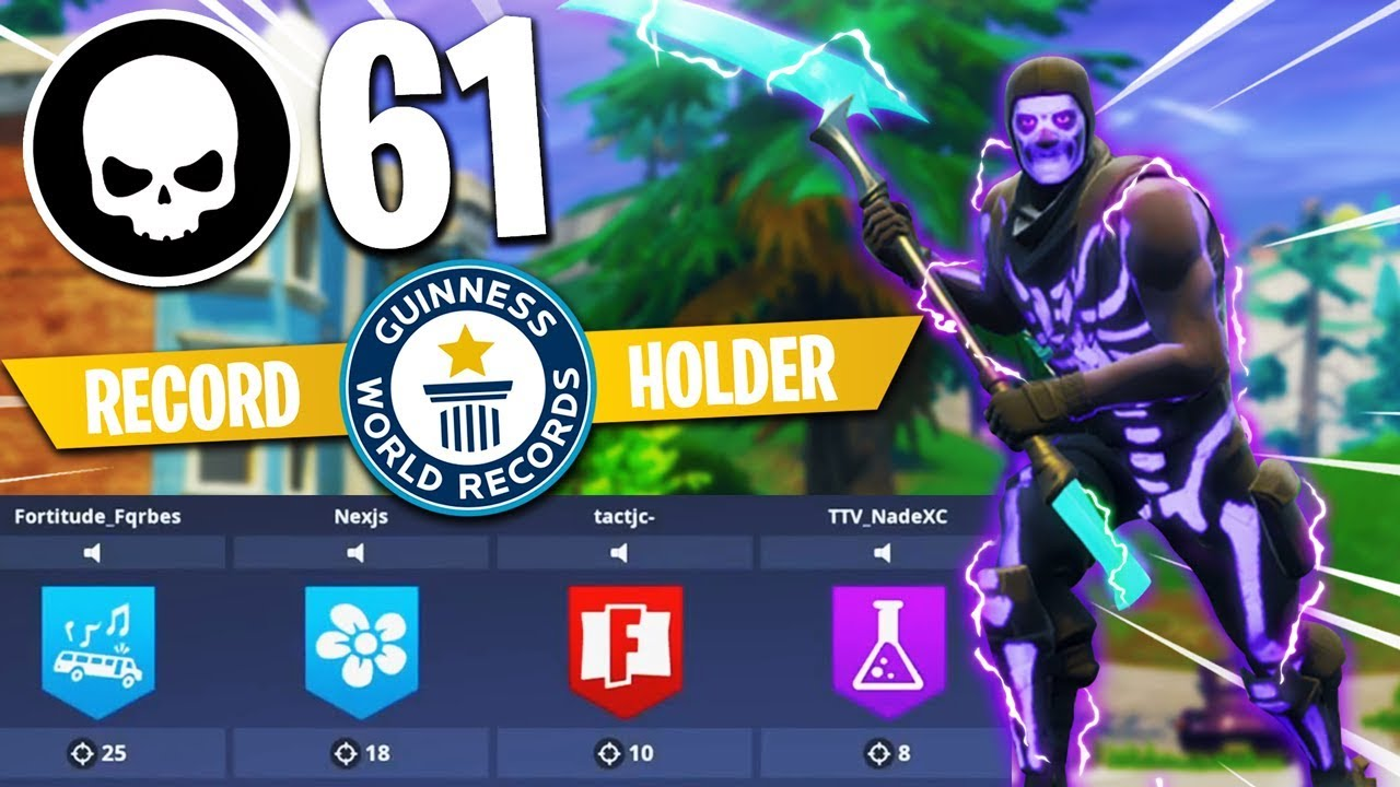 61 KILLS WORLD RECORD - Breaking FaZe Tfue + Cloakzy ...
