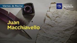 Viernes de Recital - Juan Macchiavello
