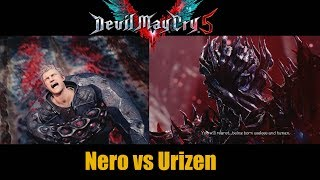 Nero Tries To Fight Urizen - Devil May Cry 5 (Mission 8)