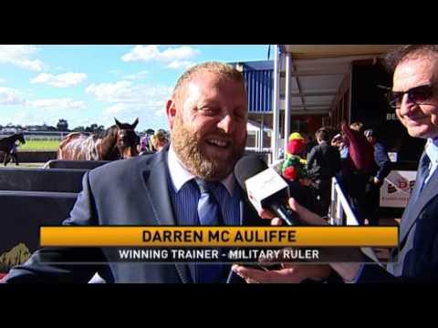 Belmont Park, 14/05/2016 - Race 5 - MILITARY RULER - Darren McAuliffe & William Pike