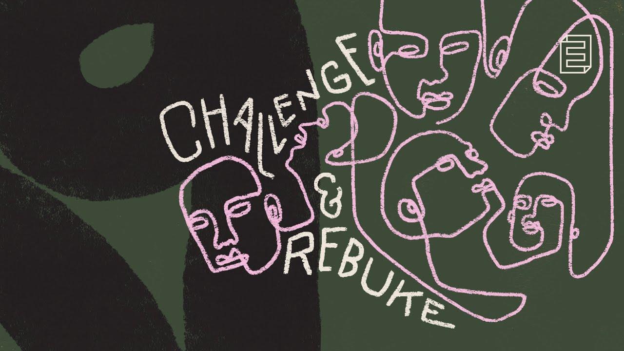 Relational Wisdom | Challenge & Rebuke Cover Image