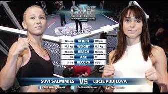 CAGE 31 Suvi Salmimies vs Lucie Pudilova