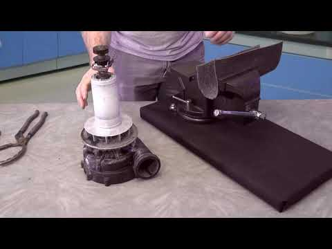 Aqua Flo XP2e Leaking Pump Repair Seal Hot Tubs How To
