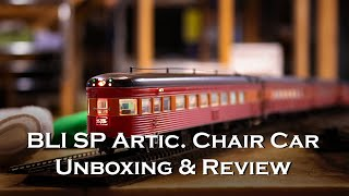 Broadway Limited SP Daylight Articulated Chair Car Review