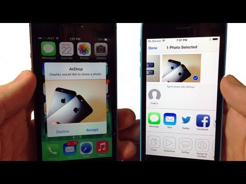 What Is AirDrop & How To Use It - IPhone, IPod, IPad
