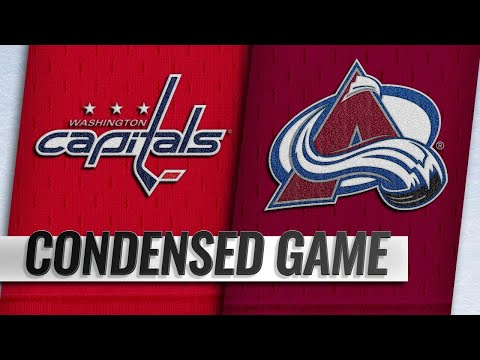 11/16/18 Condensed Game: Capitals @ Avalanche