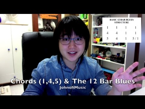 Blues Harmonica Lesson: Chords (1,4,5) And 12 Bar Blues Structure