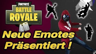 Neue Emotes ! New Upcoming Emote Fortnite Battle Royal - Rock On, Click, Smooth Ride