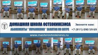 Остеокинезис главные упражнения ; Видеоуроки  заказать +7 (981) 959 36 99