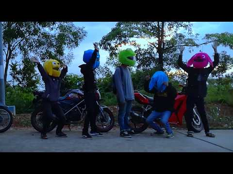 Goyang Helm Stitch :D L Ogazt Motovlog Goyang Bareng Sitch Family Batam