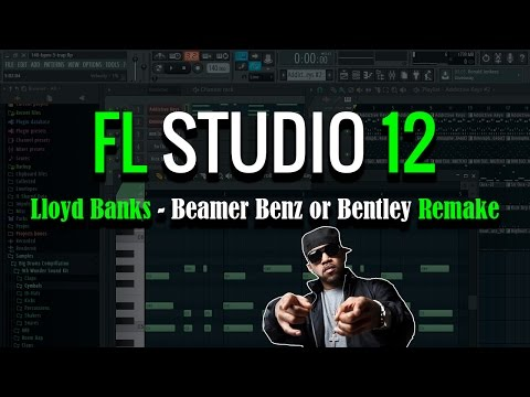 Lloyd Banks - Beamer Benz or Bentley | Remake Beat | FL Studio 12