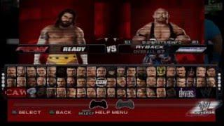 WWE2K16 para Play Station 2 en español|Gameplay