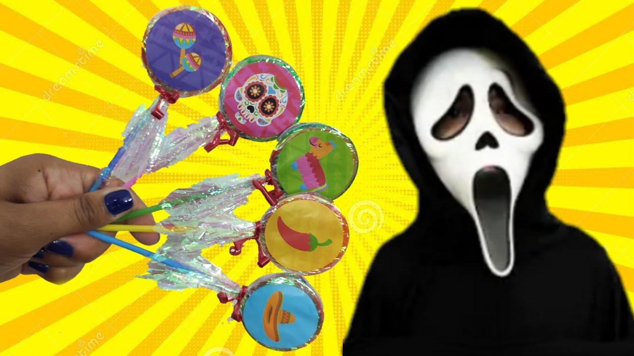 Pre-School Toddler Learn Colors & Finger Family Song with Lollipop  شفا والأقلام السحرية