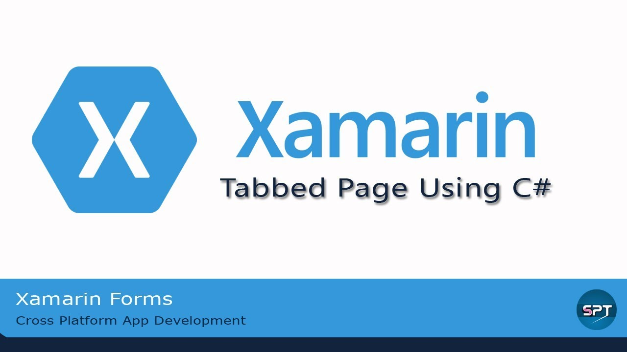 Tabbed Page Using C#-Xamarin Forms in Hindi [Part-17]