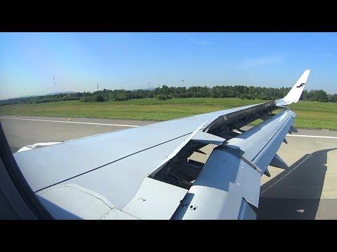 [FLIGHT LANDING] Finnair A321 - A Sunny Clear Morning Landing Into Zurich Airport