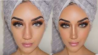 How to FAKE a NOSE Job! CONTOUR YOUR NOSE | YOUNGCOUTURE