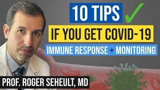 If You Get COVID 19: Optimize Immune System (Vitamin D, Monoclonal Antibodies, NAC, Quercetin etc.)