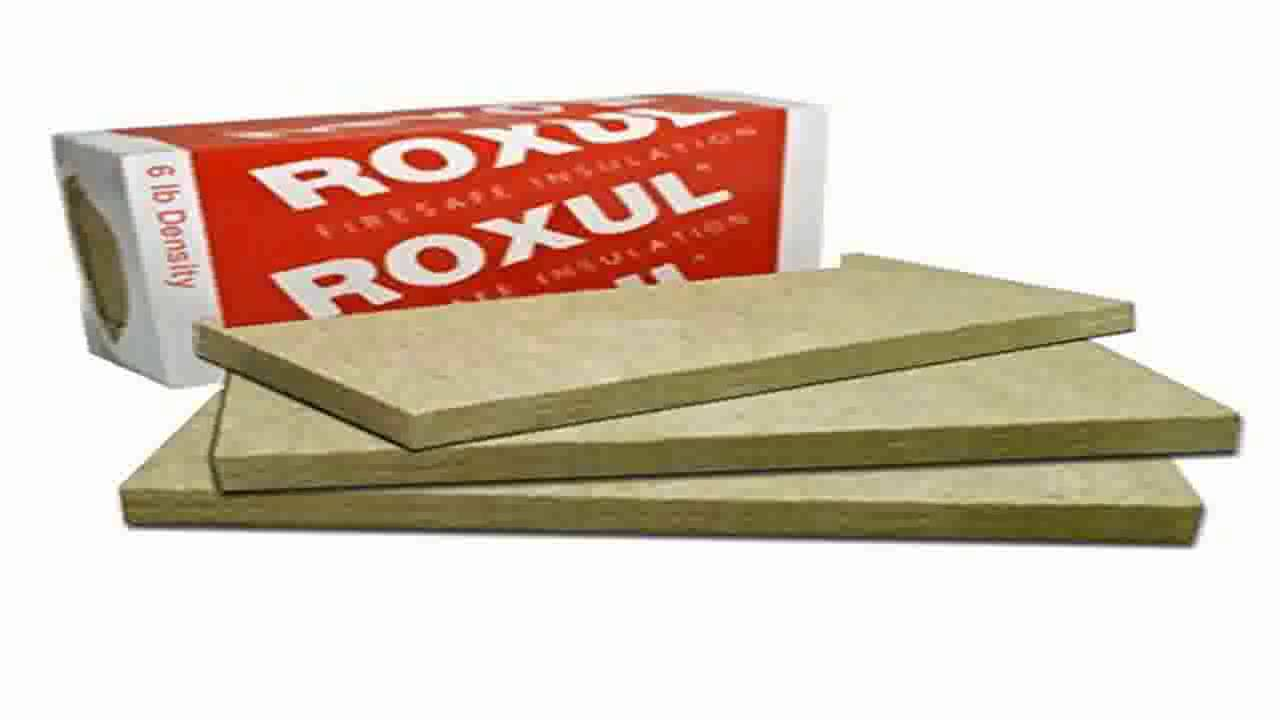 Roxul rockboard acoustic mineral wool 60 48x24x4 for Roxul mineral wool r value