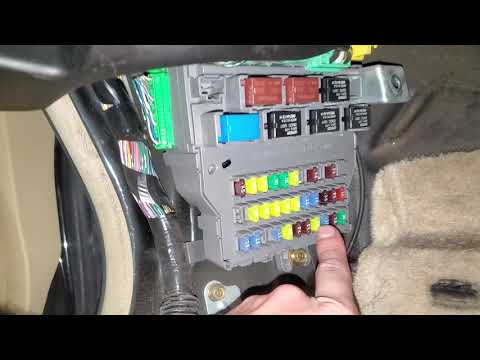 2005 acura tl cigarette lighter fuse, power outlet fuse and relay - radio  fuse - youtube  youtube