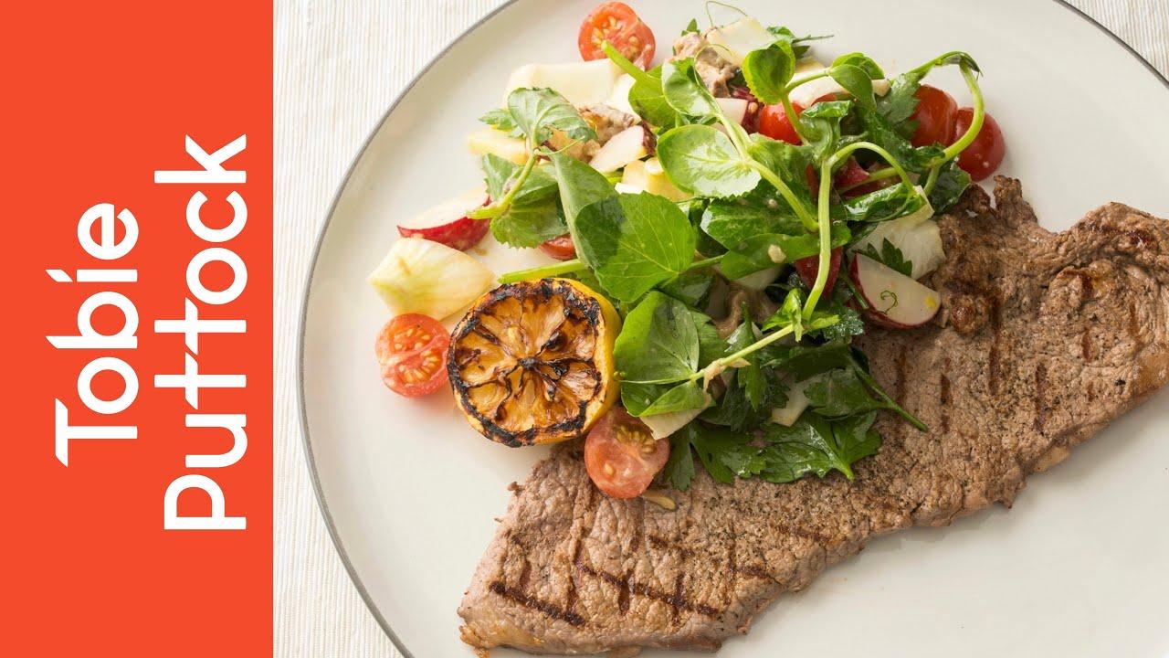 Minute Steak And A Super Quick Healthy Salad