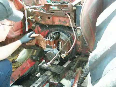 hqdefault david brown 880 implomatic hydraulic fix 2 youtube david brown 995 wiring diagram at panicattacktreatment.co