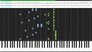 周杰倫 - 說好的幸福呢 [Piano Tutorial] [Synthesia] [Lyrics]