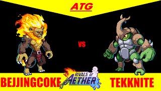 Rivals of Aether CIU Weekly: Losers Round 4 - BejjingCoke(Zetterburn) vs Tekknite(Kragg)