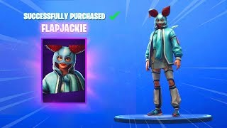 NEW FLAPJACKIE, GROWLER SKINS AND EMOTE (Fortnite Item Shop November 8) - Fortnite Item Shop Today