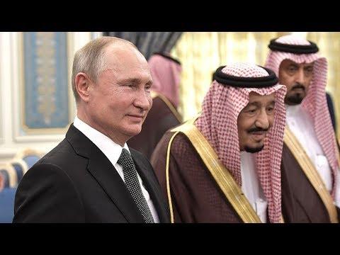 Путин подарил королю Саудовской Аравии кречета