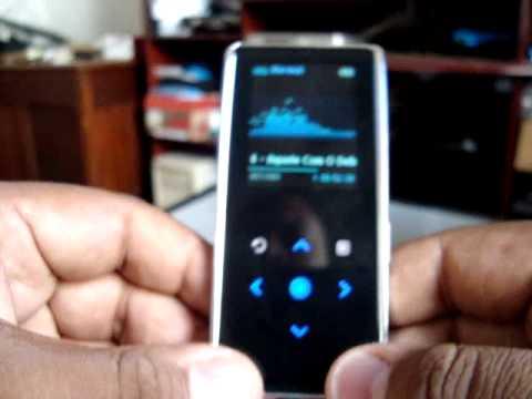 Eduardo Moreira - Review - MP3 Player Samsung YP-K3 (YPK3)