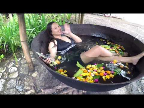 Kawa Hot Bath in Tibiao, Antique