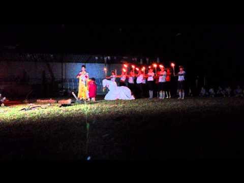Đêm lửa trại Thái Tử xuất gia GĐPT Đức Chơn- Trại Dũng Kiền Trắc 2014